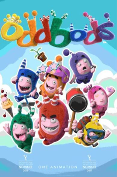 Oddbods, Vuulr Global Content Marketplace