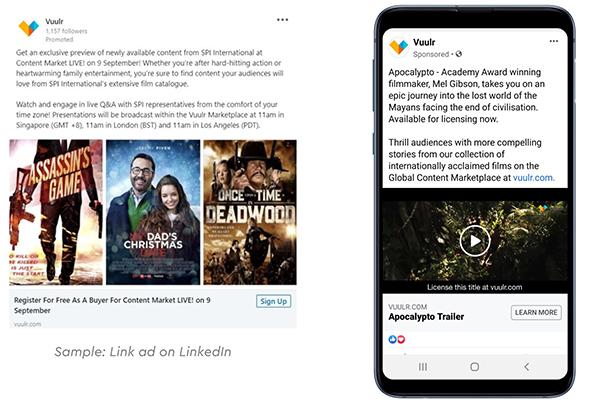 Advertise With Vuulr - Custom Social Media