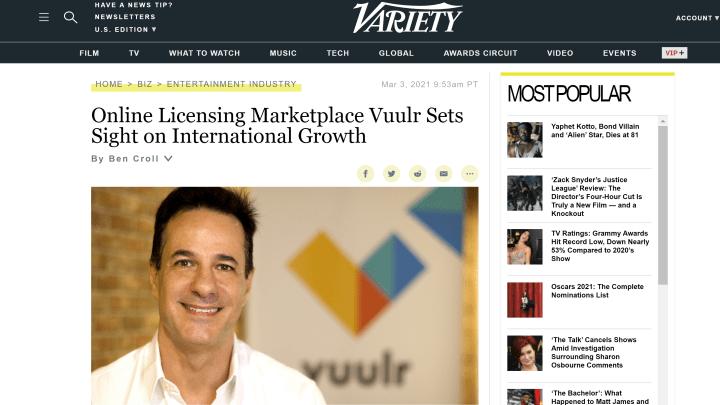 Online Licensing Marketplace Vuulr Sets Sight on International Growth