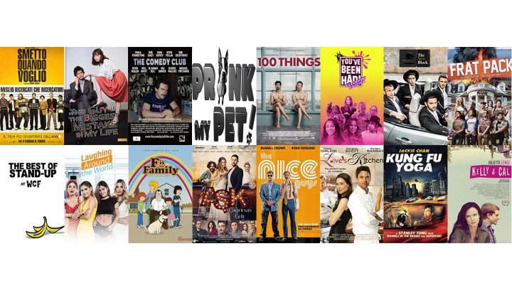 Acquire From A Global Selection of Comedy Titles