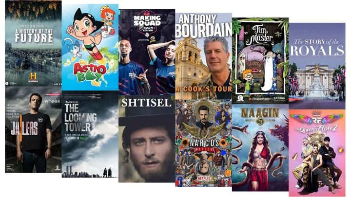 Showcasing An International Mix Of TV Series