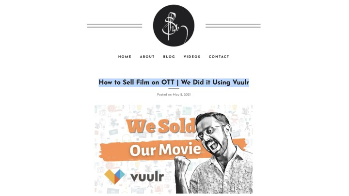 How to Sell Film on OTT | We Did it Using Vuulr