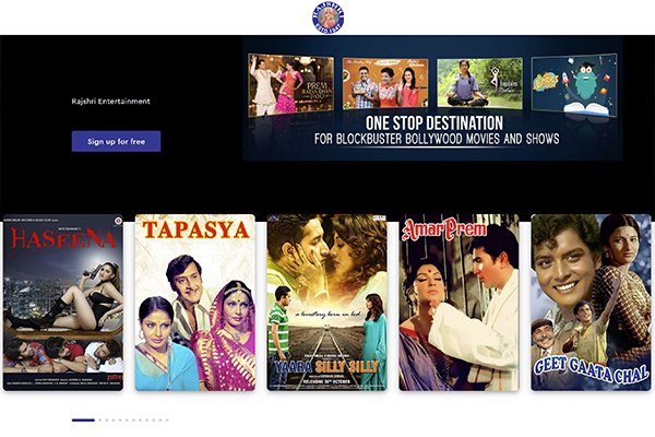 Rajshri Entertainment, Branded Sales Platform
