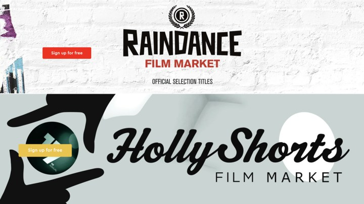 License Official Selections From Raindance & Hollyshorts Marketplaces